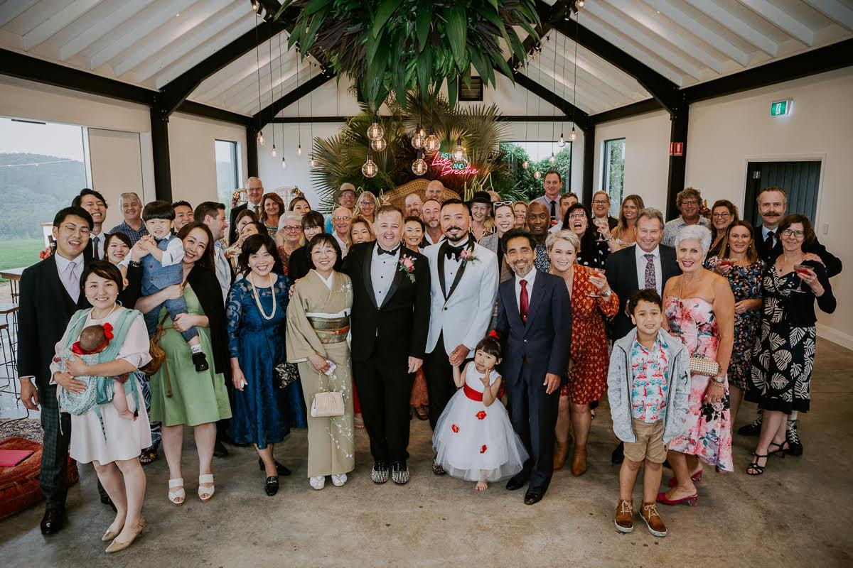 Yuichi2 1024x683 - Stephen & Yuichi's Orchard Estate Wedding, Byron Bay